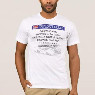Tシャツを競争させるHRWテイラーの規則のスケールのスロットカー Tシャツ