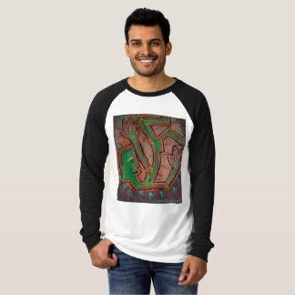 Tシャツを絵を描く落ちたなFunksterの~の抽象芸術 Tシャツ