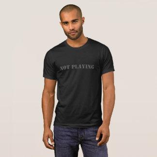 Tシャツを遊ばないこと Tシャツ