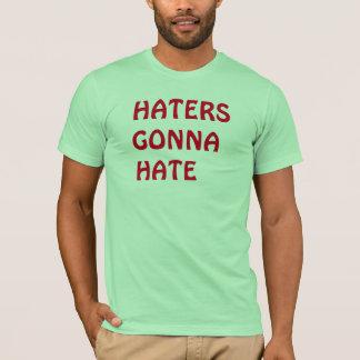 """Tシャツを""""憎むことを""""行っている嫌悪症 Tシャツ"""