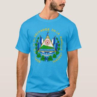 Tシャツエルサルバドルの紋章付き外衣 Tシャツ