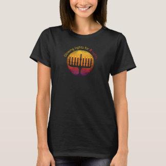 Tシャツハヌカーの光のフェスティバル Tシャツ