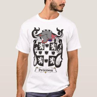 Tシャツピーターソン家族の紋章付き外衣 Tシャツ