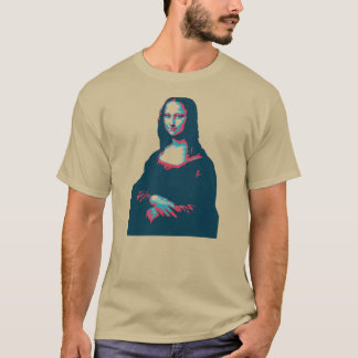 Tシャツモナ・リザ Tシャツ