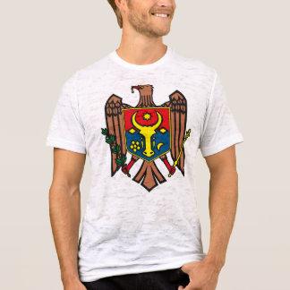 Tシャツモルドバの紋章付き外衣 Tシャツ