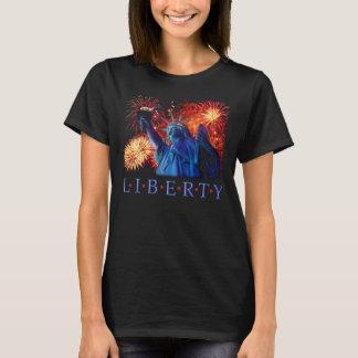 Tシャツ米国ニューヨーク自由の女神 Tシャツ