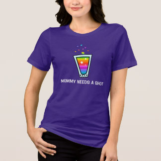 Tシャツ-お母さんは打撃を必要とします Tシャツ