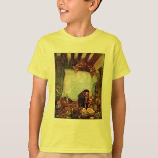 Tシャツ:  エドマンドDulac著錬金術師そして彼の金ゴールド Tシャツ