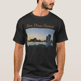 Tシャツ-サンディエゴの日没 Tシャツ
