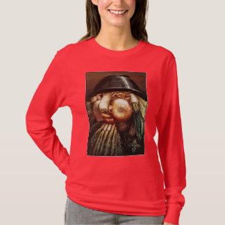 Tシャツ: シェフ-ジウゼッペAcrimboldo著… Tシャツ