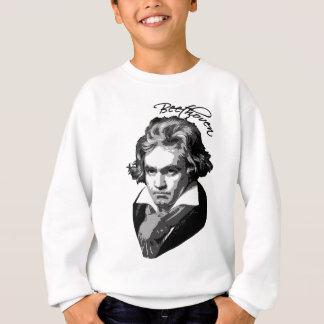 Tシャツ、マグ、ギフトのベートーベンのポートレート スウェットシャツ