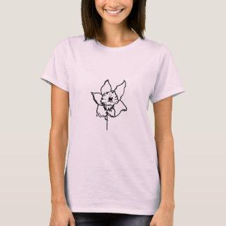 Tシャツ-ラッパスイセンの蟹座 Tシャツ
