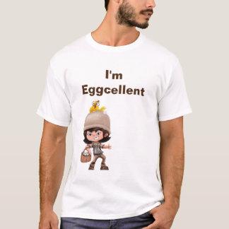Tシャツ-卵の男の子 Tシャツ