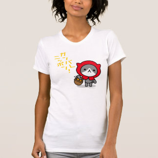Tシャツ-子猫- Ganbare日本 Tシャツ