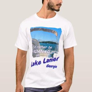 Tシャツ-湖Lanier、ジョージア: むしろ船遊びがあって下さい Tシャツ