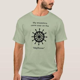 Tシャツ-私の祖先はに…やって来ました Tシャツ