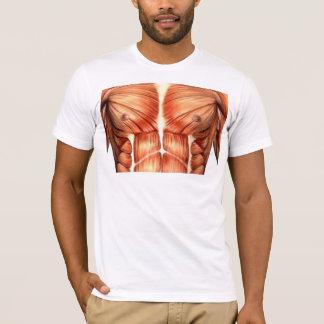 Tシャツ、筋肉、箱、体 Tシャツ