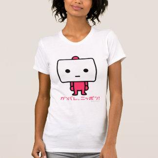 Tシャツ-豆腐-ピンク Tシャツ