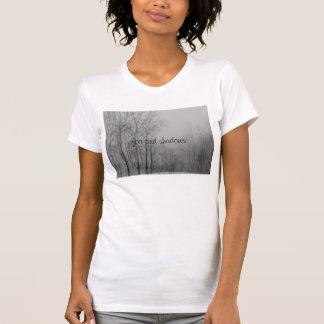Tシャツ、黒く及び白い写真、文字 Tシャツ
