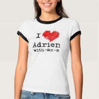 TシャツAdrienとeのIハート Tシャツ