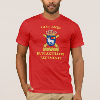 TシャツGotlands Kustartilleriregemente. Tシャツ