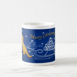 Tレックスのクリスマス コーヒーマグカップ