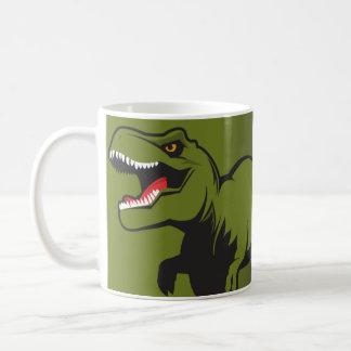 Tレックスの名前入りな項目 コーヒーマグカップ