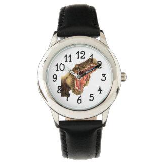 Tレックスの恐竜の腕時計 腕時計