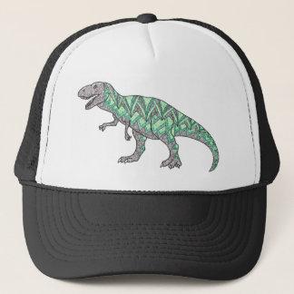 Tレックスの恐竜の落書きの図解入りの、写真付きのな芸術 キャップ