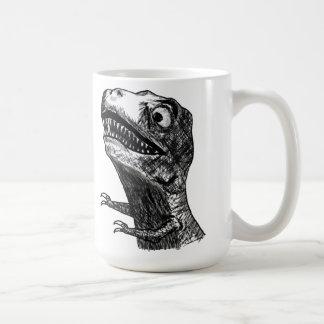 Tレックスの激怒のミーム-マグ コーヒーマグカップ
