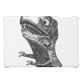 Tレックスの激怒のミーム- iPad1横の場合 iPad Miniケース