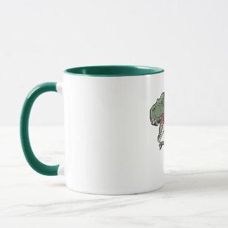 Tレックスの石 マグカップ