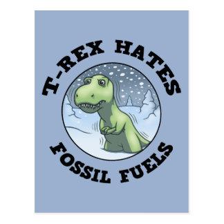 Tレックスは化石を憎みます はがき