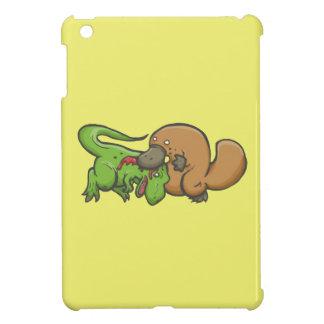 Tレックス対Platypus iPad Mini カバー