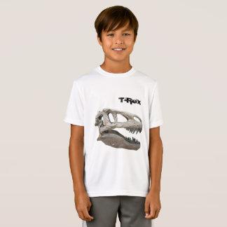Tレックス、子供のスポーツTekの競争相手のTシャツ Tシャツ
