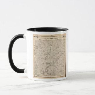 T1617S R2829E Tulare郡セクション地図 マグカップ