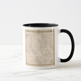 T16S R26E Tulare郡セクション地図 マグカップ