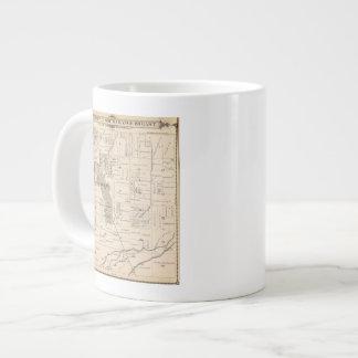 T17S R23E Tulare郡セクション地図 ジャンボコーヒーマグカップ