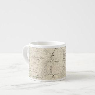 T18S R28E Tulare郡セクション地図 エスプレッソカップ