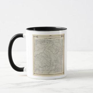 T2021S R3031E Tulare郡セクション地図 マグカップ