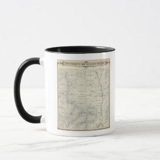 T20S R29E Tulare郡セクション地図 マグカップ