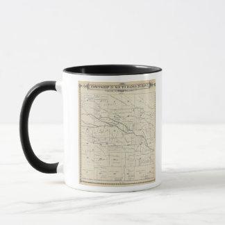 T21S R26E Tulare郡セクション地図 マグカップ