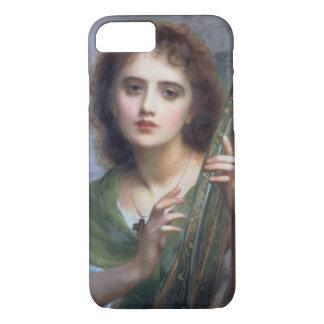 T31601リラ(パネル)を持つ女性 iPhone 8/7ケース
