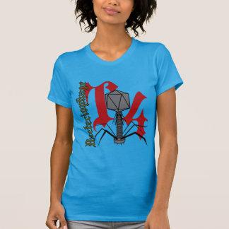 T4バクテリオファージ Tシャツ