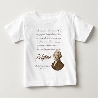T.ジェファーソン: 真実及び新聞乳児のTシャツ#2 ベビーTシャツ