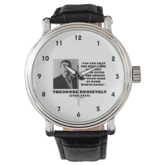 T.ルーズベルトPrizeのチャンスの仕事のハードワークのすること 腕時計