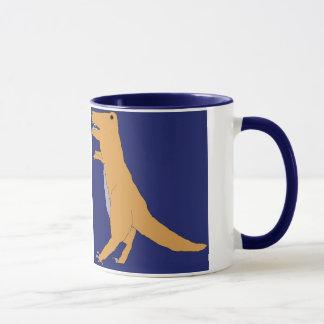 T.青いマグのレックス マグカップ