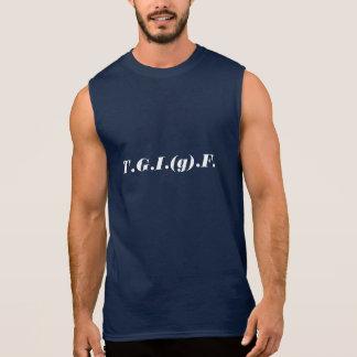 T.G.I. (g)。F. 袖なしシャツ