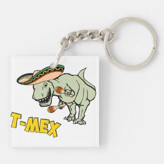T-MexのTレックスのメキシコティラノサウルス・レックスの恐竜 キーホルダー