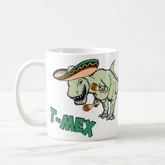 T-MexのTレックスのメキシコティラノサウルス・レックスの恐竜 コーヒーマグカップ